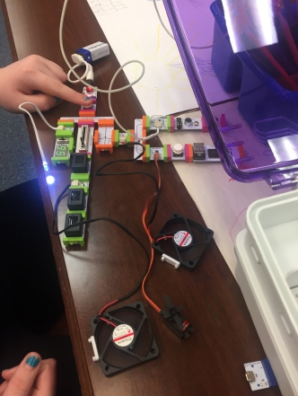 Trying out LittleBits